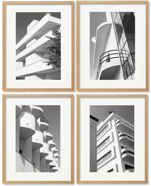 Das Set: Tel Aviv, Fassade I - IV, 2018/2019