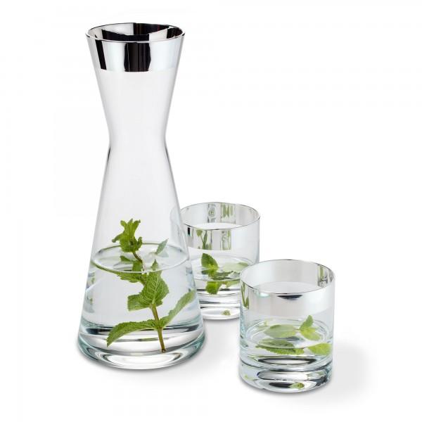 Dekanter mit 2 Gläsern von Sonja Quandt