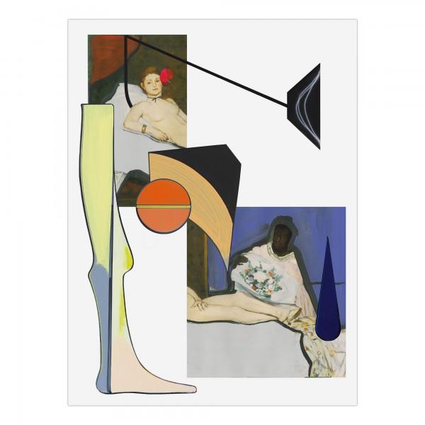 Thomas Scheibitz - Cadavre Exquis / Manets Olympia