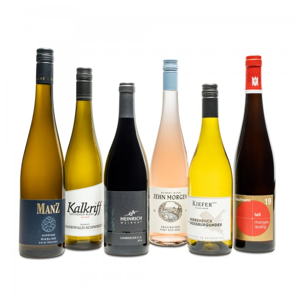 F.A.Z.-Weinselection Deutsche Weinregionen
