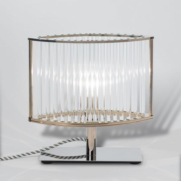 Stilio Tischleuchte mit Kristallglas als F.A.Z. Edition