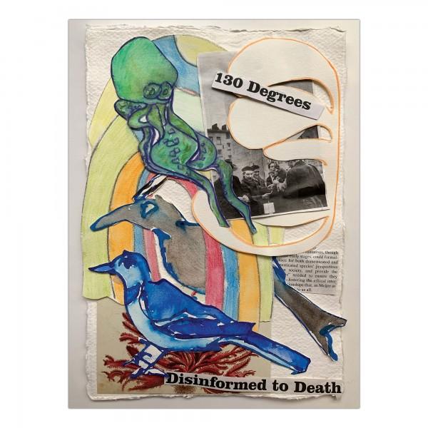 Joan Jonas - Cadavre Exquis / Manet Olympia