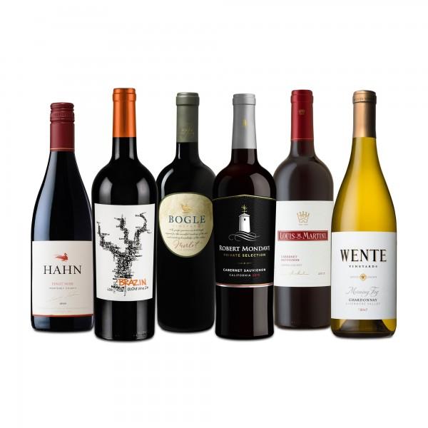Kalifornien Weinselektion