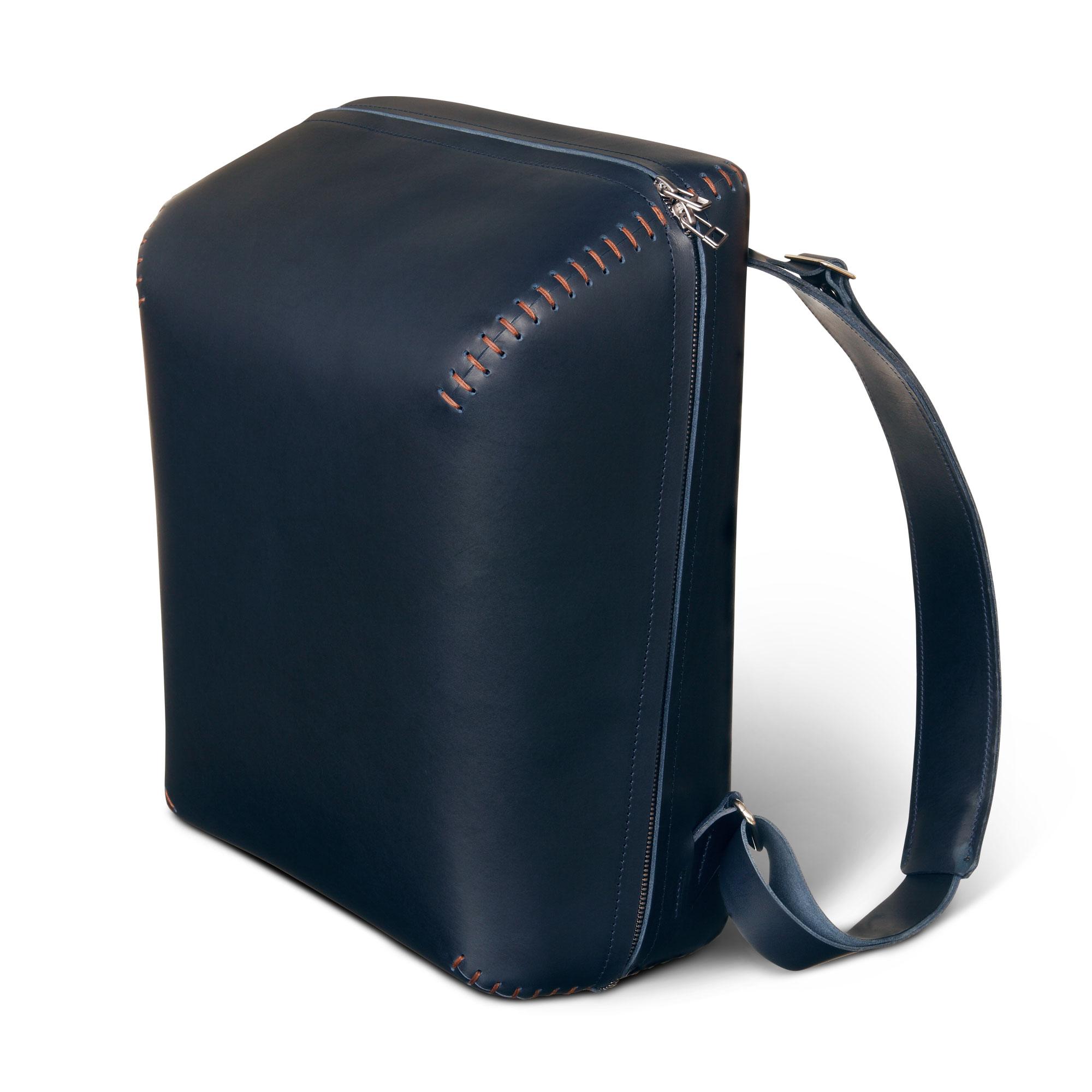 blauer rucksack bokka s f a z onlineshop selection. Black Bedroom Furniture Sets. Home Design Ideas